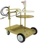 Mobile C.S. unit for 180 kg drums