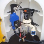 mobiele Ad-Blue tank installatie